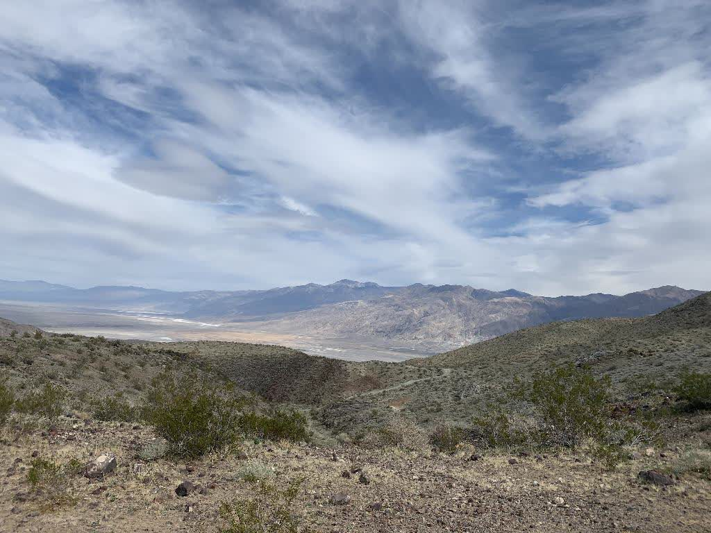 photo from Inyokern entering the park